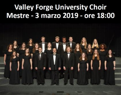 Valley Forge University Choir - 3 marzo 2019